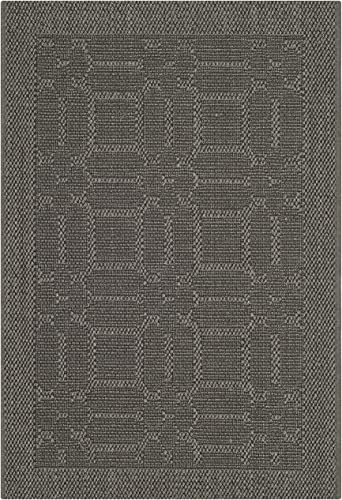 Safavieh Palm Beach Collection PAB323E Ash Sisal Jute Area Rug 2 x 3