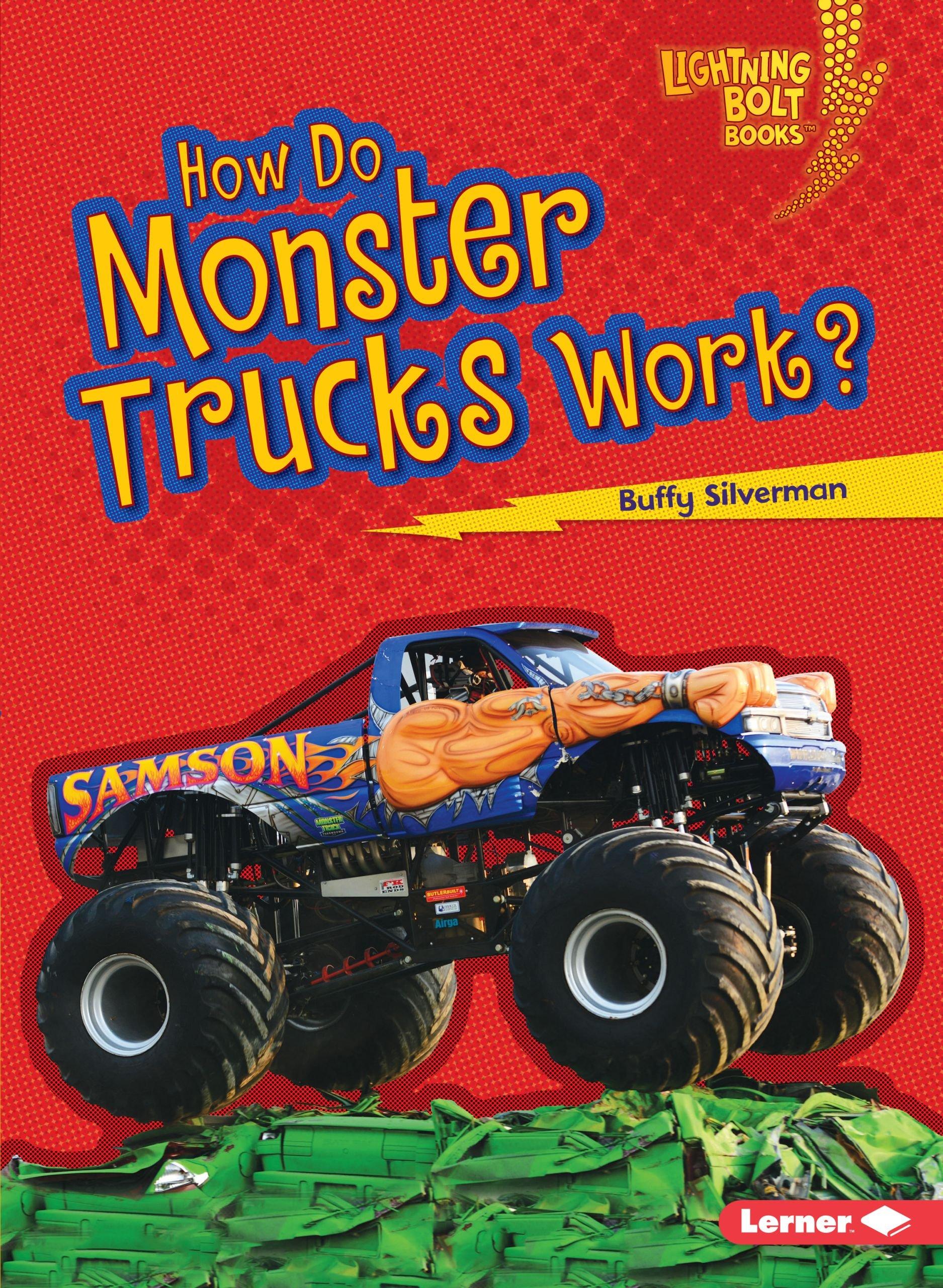 Monster Trucks Work Lightning Books product image