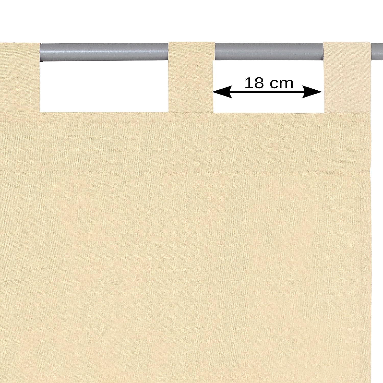 Schlaufen oder Ösenschal - Vorhang-Gardine Maßanfertigung im Unidesign Weiss 120cm 120cm 120cm x 320cm Schlaufenschal , Farbe und Größe wählbar B01N963UCO Gardinenschals 9b2e06