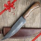 Vollangel - Hoja para cuchillo (acero de Damasco): Amazon.es ...