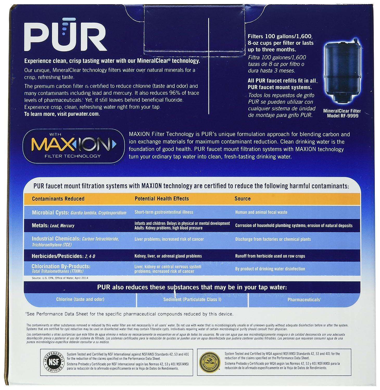 Pur Mineralclear Faucet Refill ~ Instafaucet.us