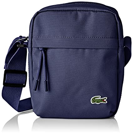 0f7b727ef7b Lacoste Men's NH2102NE Cross-Body Bag, (Peacoat), 21 x 6.5 x 16 cM ...
