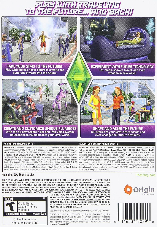 Amazon com: The Sims 3 Into the Future - PC/Mac: Video Games