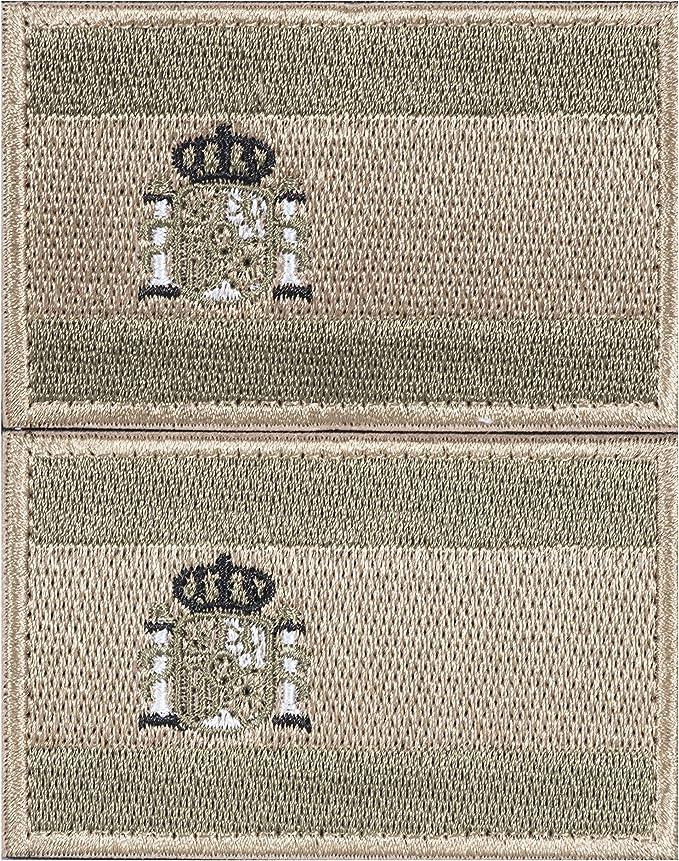 2 Parches Velcro x España Bandera Táctico bandera con velcro podría ser pegado a la ropa, chaleco, gorra, mochila Directamente OD 3628: Amazon.es: Hogar