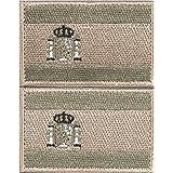 Envio 24h 2 Parches Velcro x España Bandera Táctico bandera con velcro podría ser pegado a la ropa, chaleco, gorra, mochila Directamente OD 3628