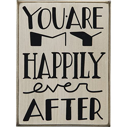 Primitives by Kathy Youre My Happily Ever After Box Sign