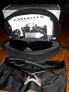70123b57efb Oakley Si Ballistic M-frame 2.0 Array - Black Frame with Grey and Clear  Lenses