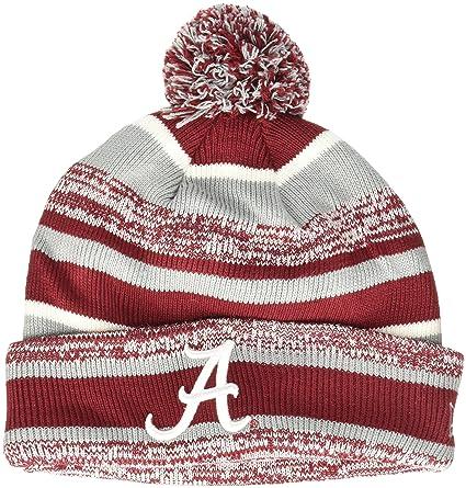 f9ce8fbbb95 Amazon.com   New Era NCAA Sport Cuffed Knit Hat with Pom   Sports ...