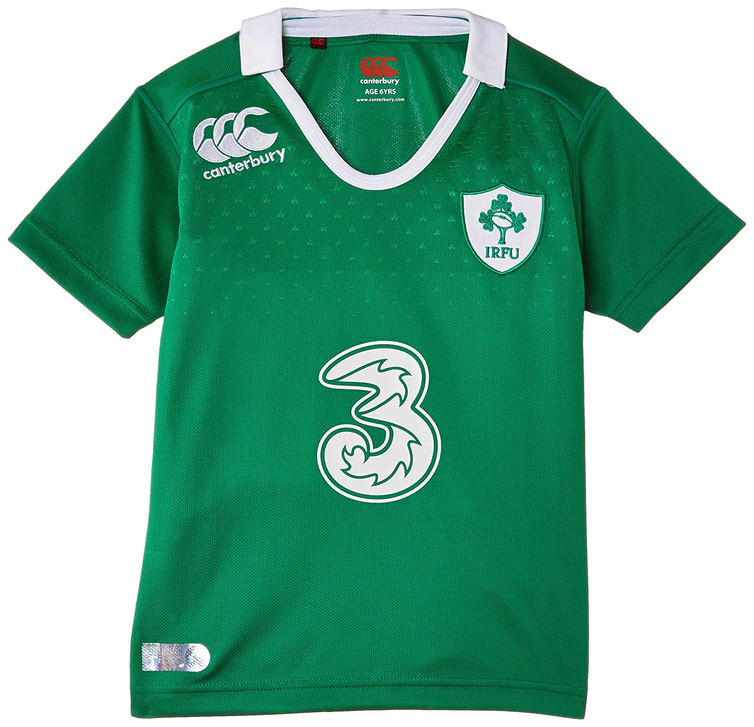 2014-2015 Ireland Home Pro Rugby Shirt (Kids) Canterbury