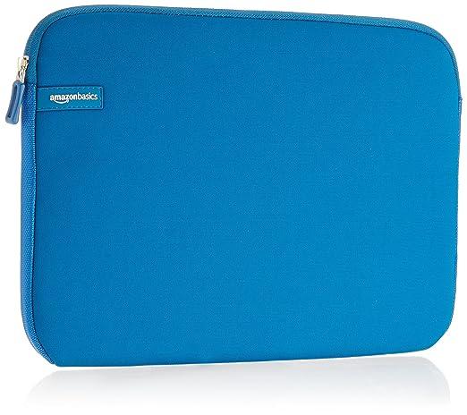 1540 opinioni per AmazonBasics- Custodia per laptop, 13,3 pollici, Azzurro