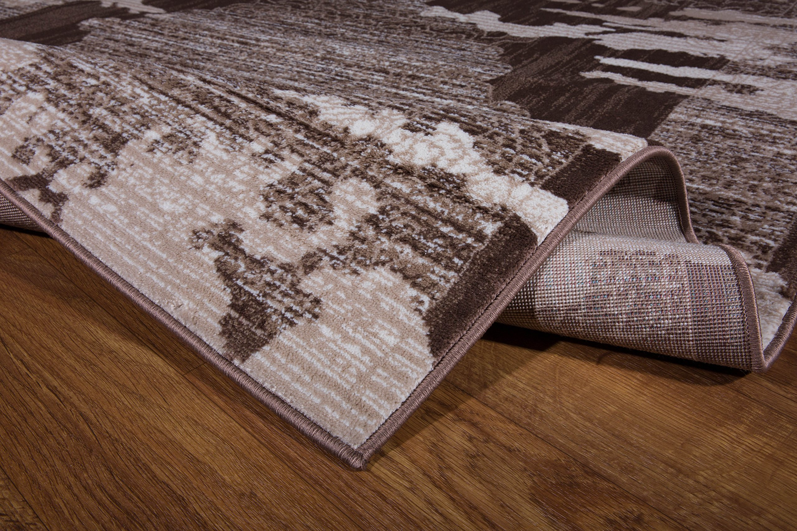 Antep Rugs Zeugma Collection Vintage Area Rug 288-Brown Beige 7'10 X 10' by Antep Rugs (Image #3)