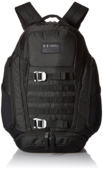 f73184796f Amazon.com  Under Armour UA Huey Backpack OSFA Black  Sports   Outdoors