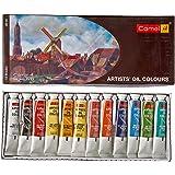 Camlin Kokuyo Artist's Oil Color Box - 20ml tubes, 12 Shades