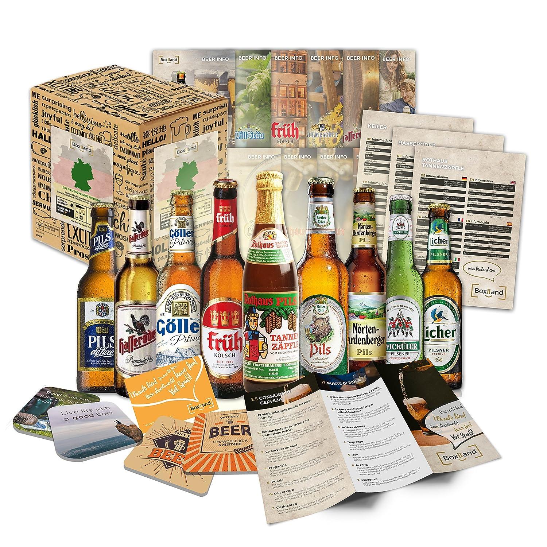 Deutsches Bier Probier Set   Weihnachtsgeschenkidee Für Männer,  Weihnachtsgeschenk Für Männer Oder Ausgefallene Geschenkideen Für Männer:  Amazon.de: Bier, ...