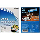 COCO NIRVANAA Delicious Natural Tender Coconut Water Powder 165 GMS (Pack of 11)