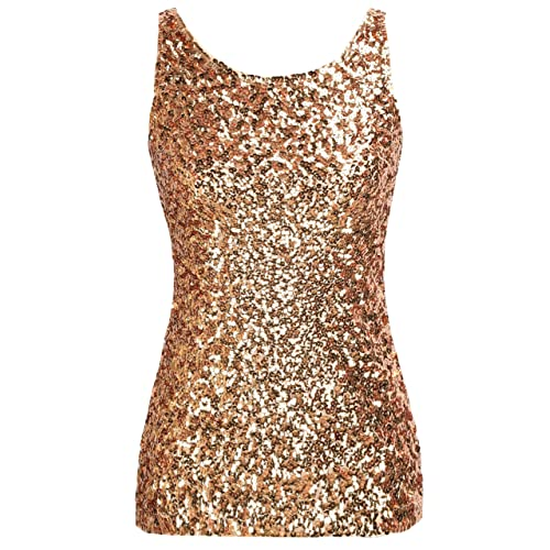 Gold Sequins Shirt: Amazon.com
