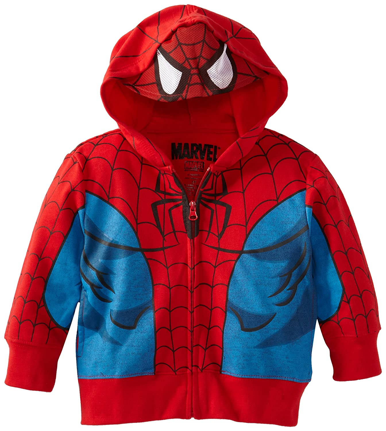 Marvel Boys' Spider-Man Hoodie with Mask
