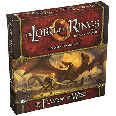 Lord of the Rings LCG: The Flame of the West Saga: Toys & Games