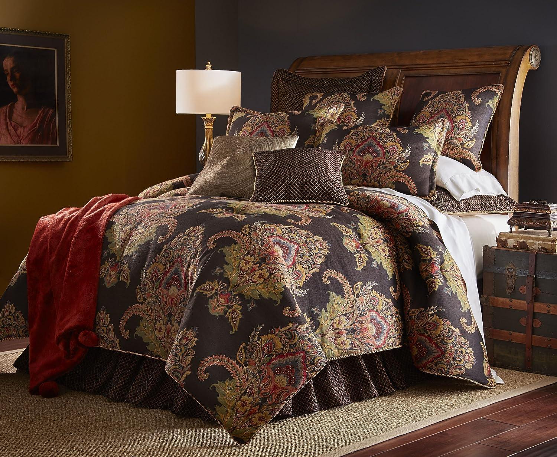 Amazon.com: Sherry Kline Regal Comforter Set, King, Multi Color, 3 ...