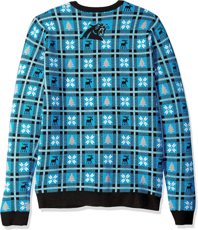 Small NFL Carolina Panthers BIG LOGO 2018 Ugly Sweater