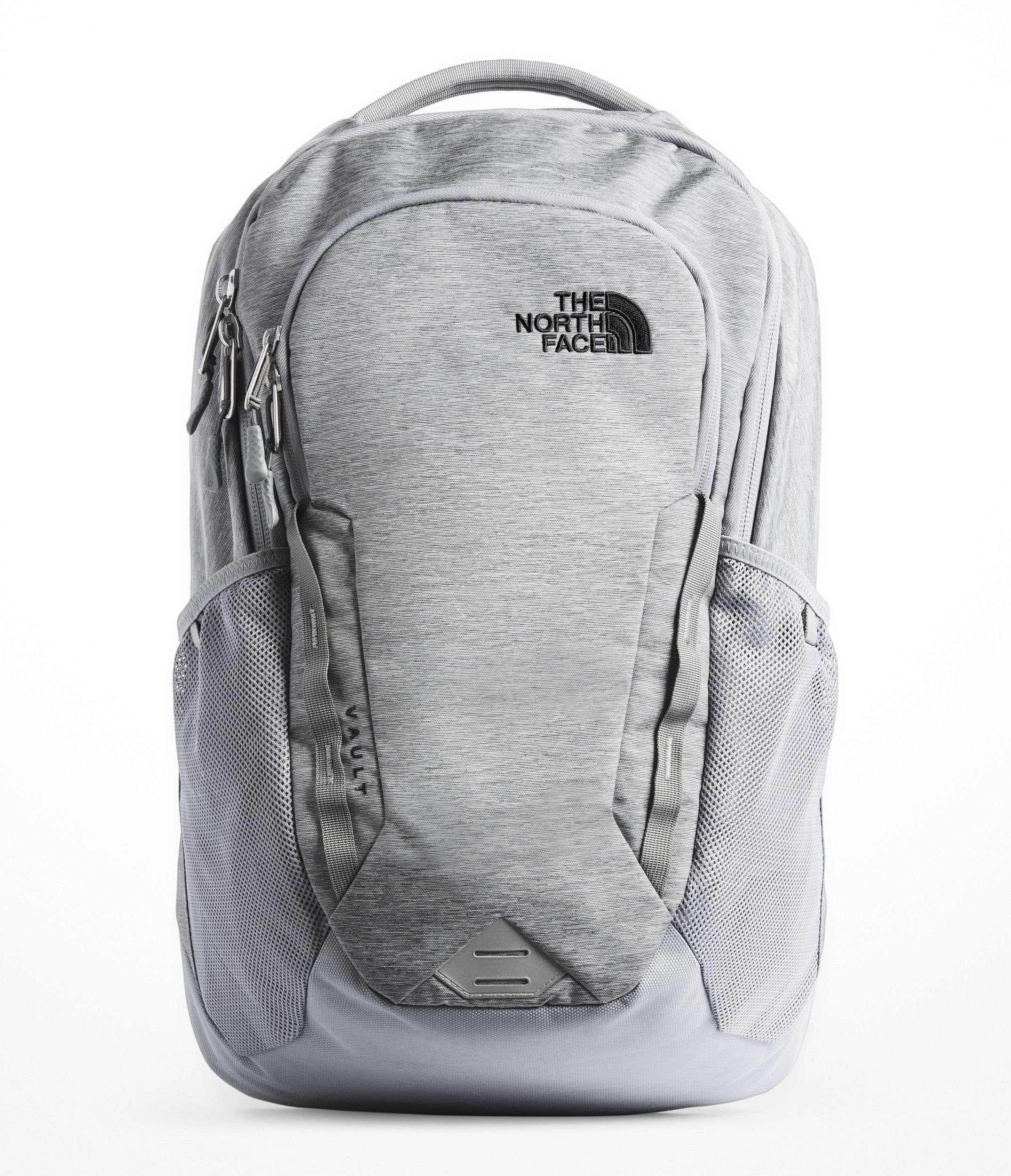 The North Face Unisex Vault Backpack Mid Grey Dark Heather/Tnf Black One Size by The North Face
