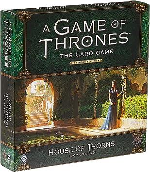 Fantasy Flight Games FFGGT29 House of Thorns Deluxe - Expansión de Juego de Mesa AGOT LCG 2nd Ed, Multicolor: Amazon.es: Juguetes y juegos