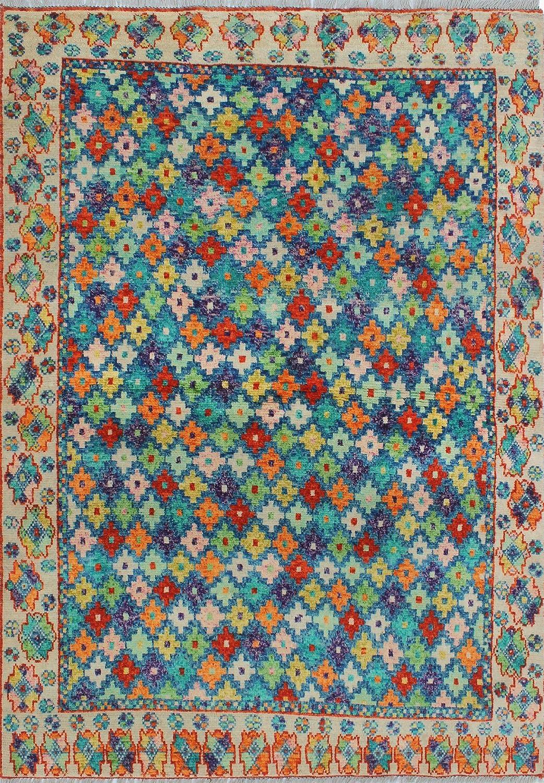 Noori Rug Balochi Julie Area Rug Blue Furniture Decor Amazon Com