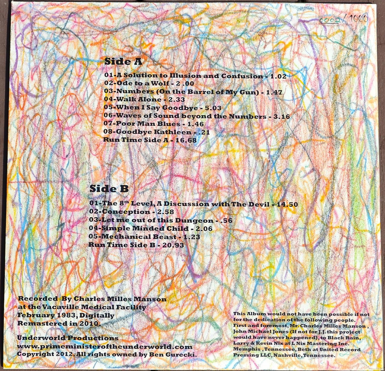 2584969eb17 Charles Manson - Charles Manson New Album
