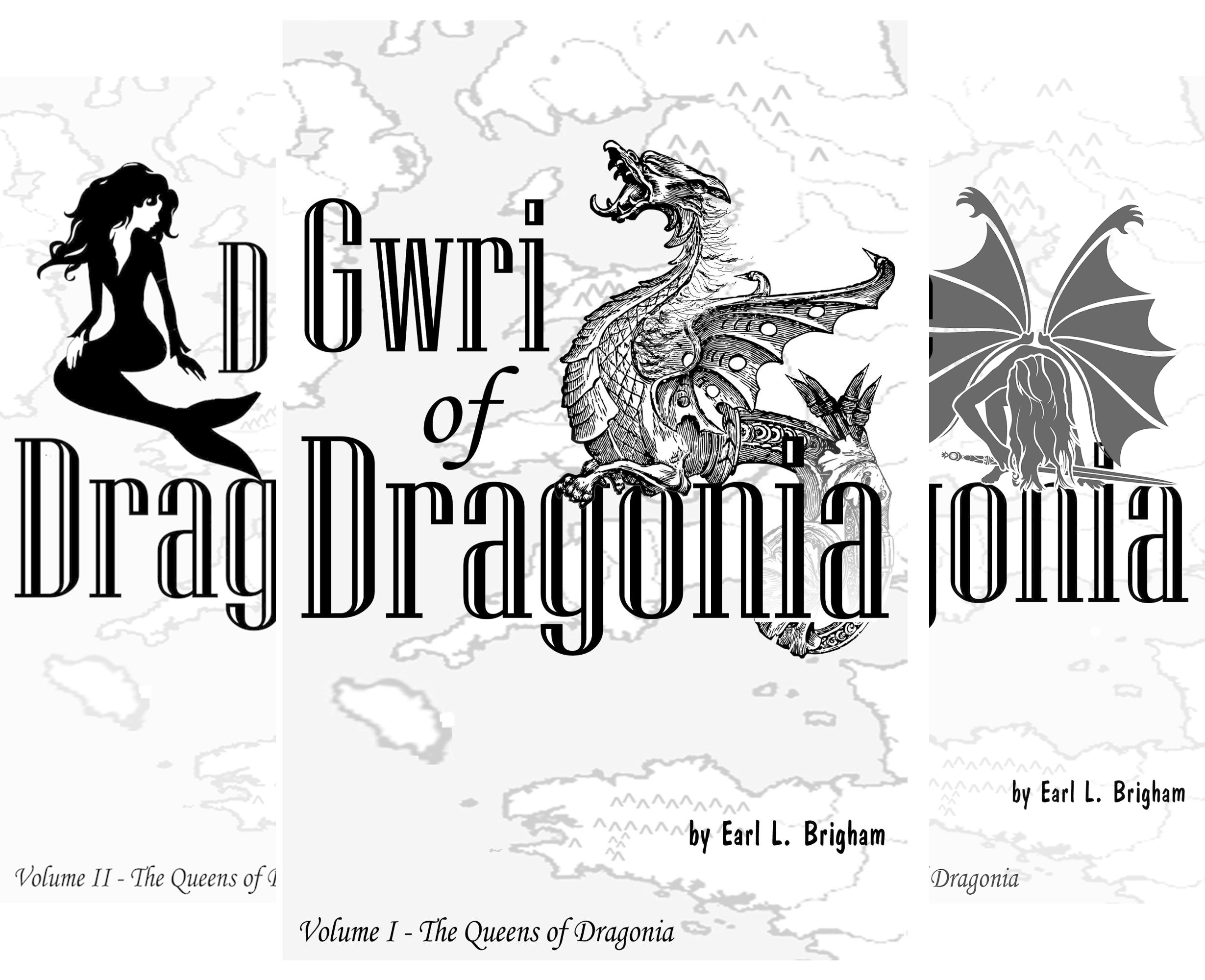 The Queens of Dragonia (3 Book Series)
