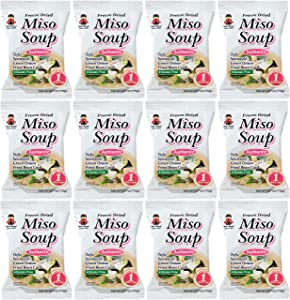 Miko Brand Freeze Dried Authentic Soup miso, 3.24 Ounce