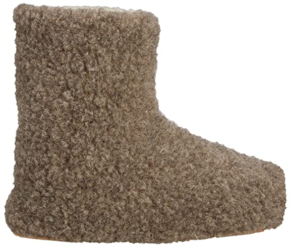 Slipper Yeti Natural Wool adulte Woolsies Booties mixte Chaussons gT1Bpnx