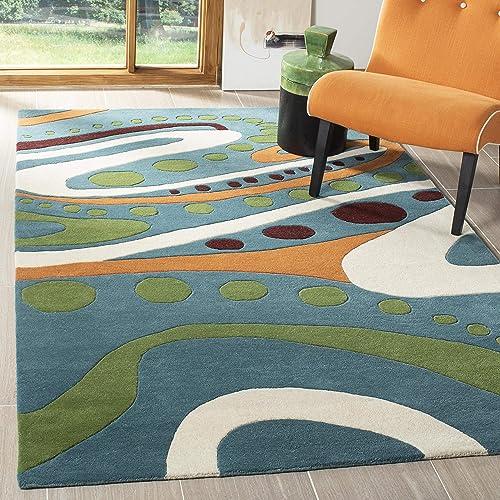 VHC Brands Farmhouse Flooring – Millie White Patchwork Rug, 6 x 9