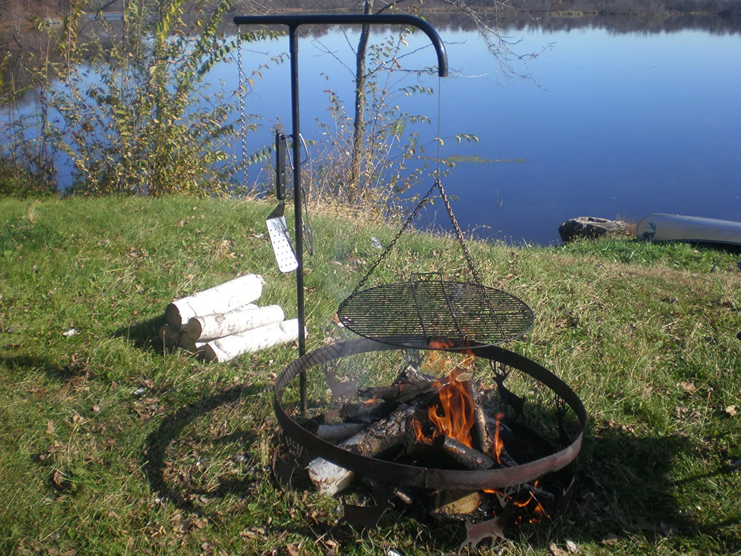 Wimpy s Swing-away Campfire Grill