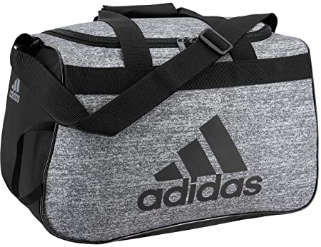 side facing adidas diablo duffel bag