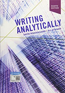 writing analytically rosenwasser pdf