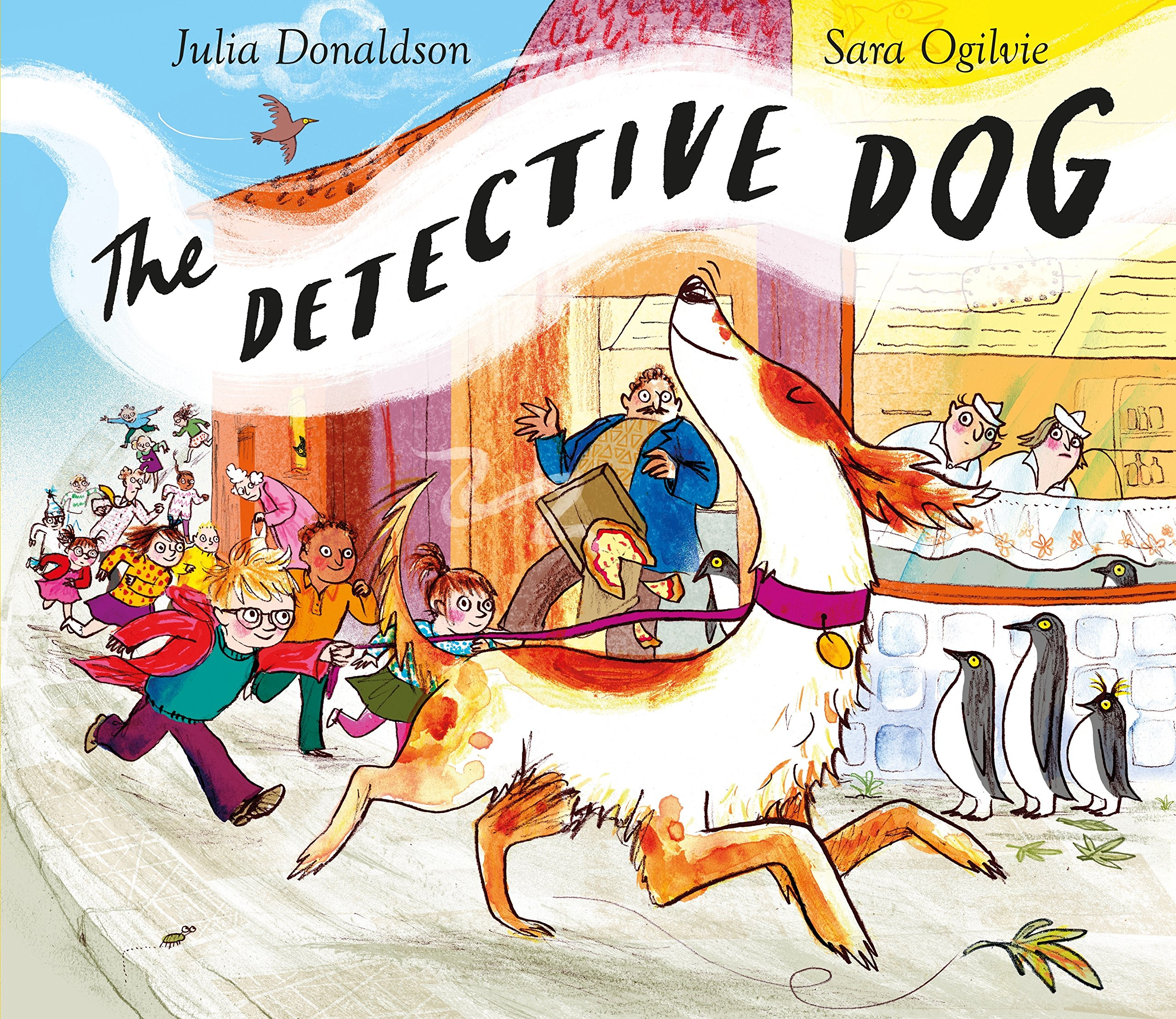 My recommendations in picture books about animals. The Detective Dog by Julia Donaldson, cover.