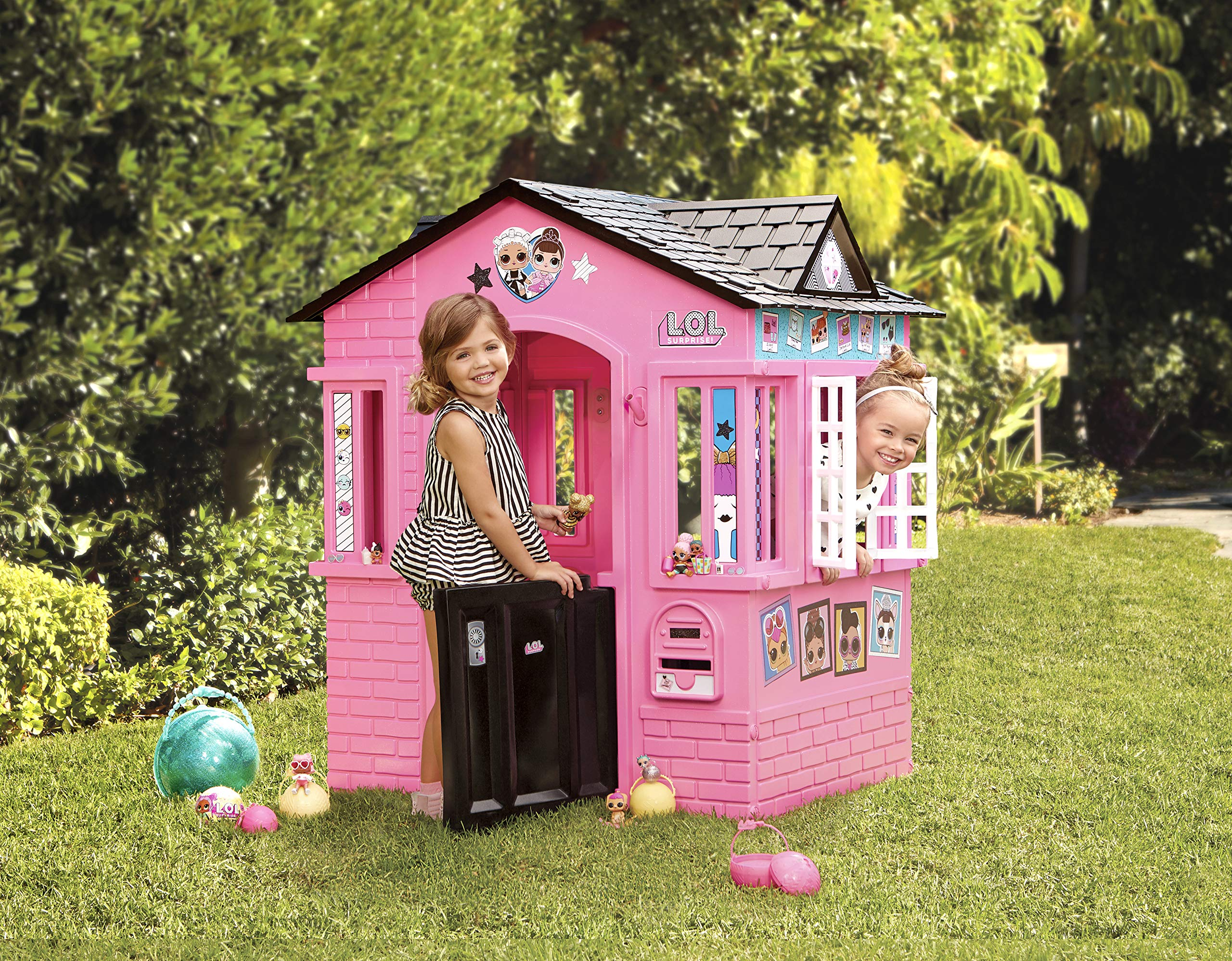 L.O.L. Surprise! Indoor & Outdoor Cottage Playhouse with Glitter by L.O.L. Surprise! (Image #3)