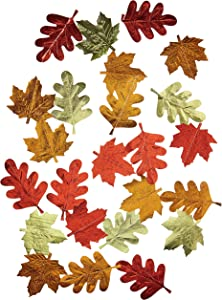 Amscan 672014 Leaf Foil String Decorations 7' Strings, 6 in a package