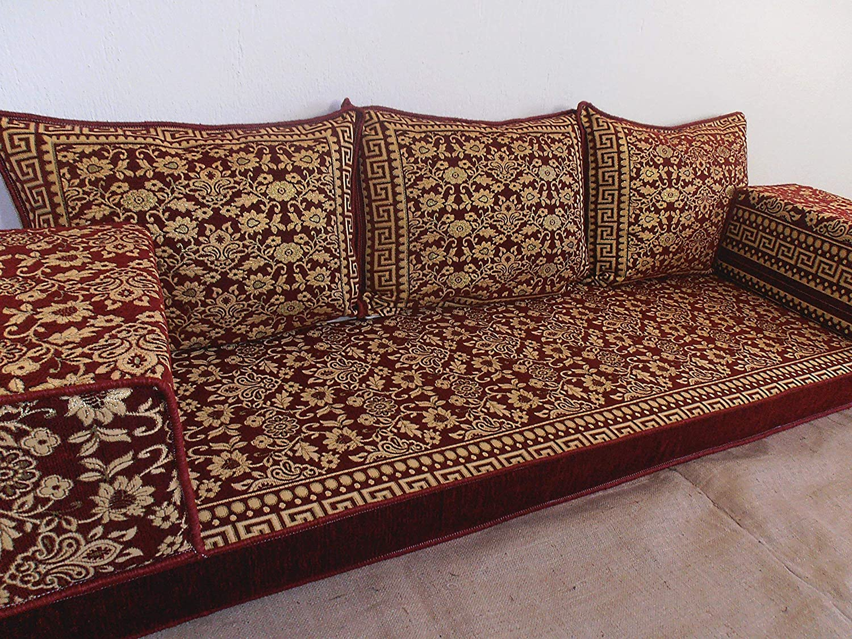 arabic floor seating,arabic sofa,arabic couch,floor seating sofa,oriental seating,bar decor,arabic furniture - MA 58