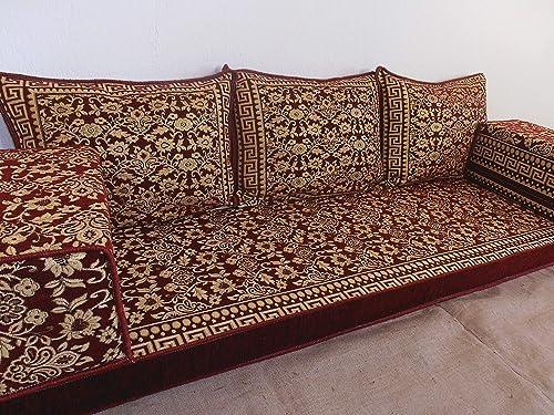 Brilliant Arabic Floor Seating Arabic Sofa Arabic Couch Floor Seating Sofa Oriental Seating Bar Decor Arabic Furniture Ma 58 Machost Co Dining Chair Design Ideas Machostcouk