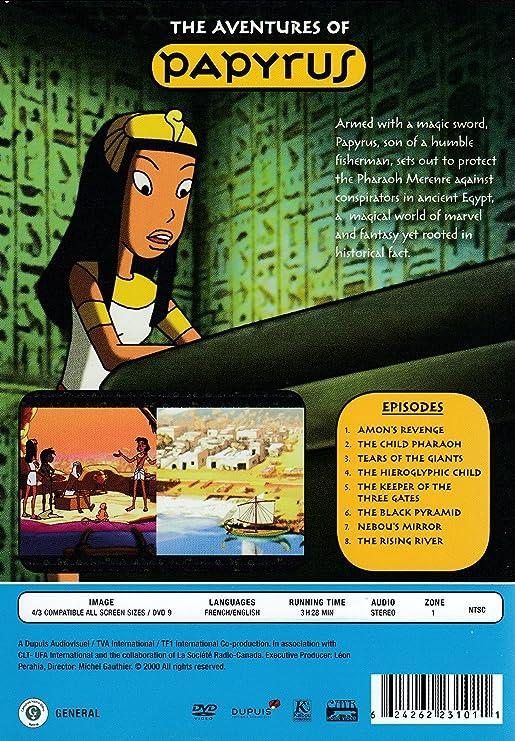 Papyrus Amon's Revenge - Plus 7 More Adventures!: Amazon ca: DVD