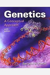 Genetics: A Conceptual Approach 6e & SaplingPlus for Genetics: A Conceptual Approach 6e (Six-Month Access) Hardcover