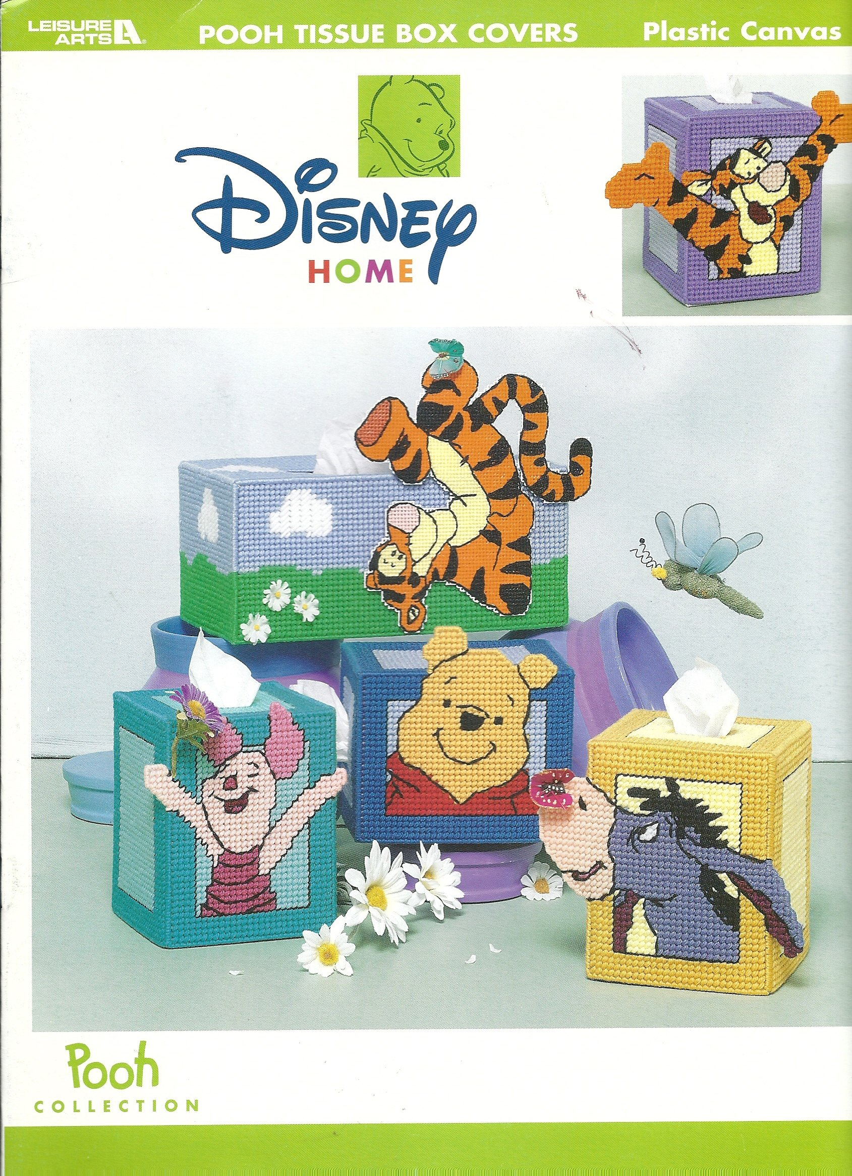 Disney's Winnie the Pooh Tissue Covers (Leisure Arts #1902): Merrilee  Gasaway: Amazon.com: Books