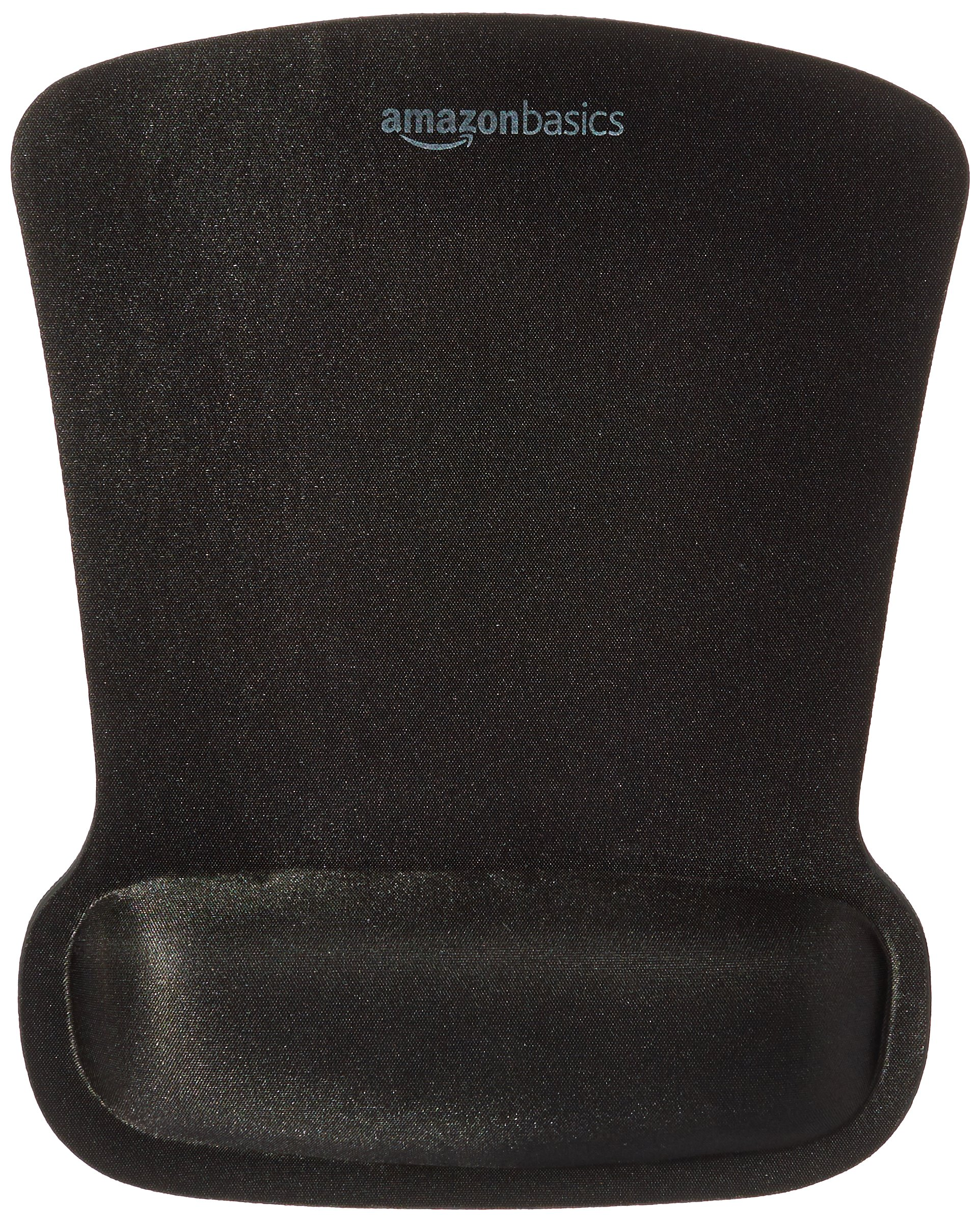 AmazonBasics Gel Mouse Pad with Wrist Support Rest - 10-Pack by AmazonBasics
