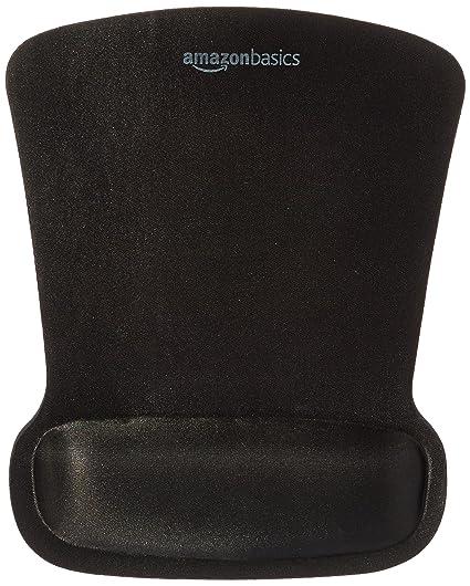 amazon com amazonbasics gel mouse pad with wrist rest computers