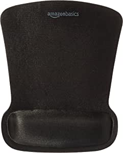 AmazonBasics Gel Mouse Pad with Wrist Rest