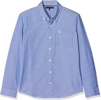 Tommy Hilfiger Solid Oxford Shirt Blusa para Niños