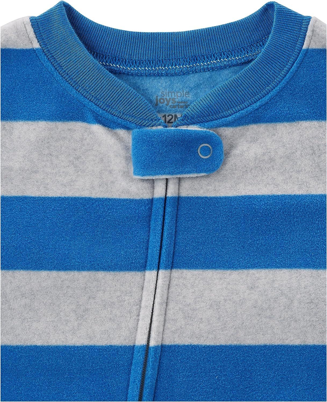 3er-Pack Simple Joys by Carters Baby und Kleinkind Jungen Fleece-Schlafanzug
