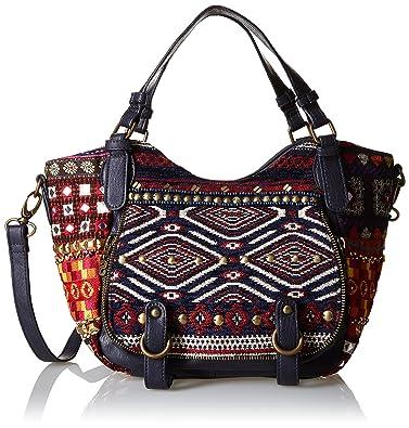 72d9191eb Desigual ROTTERDAM MINI PIA, Women's Cross-body Bag, Blue (5000 ...