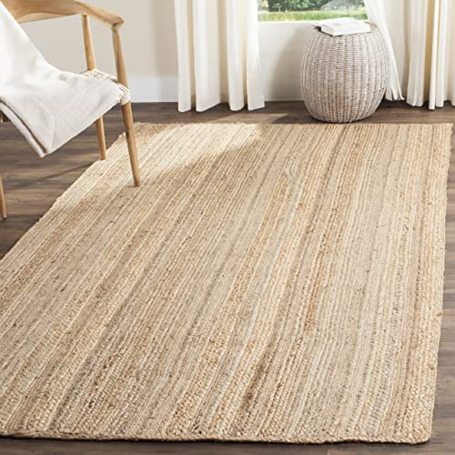 Safavieh Natural Fiber Collection NF923A Hand Woven Natural Jute Area Rug 9' x 12'